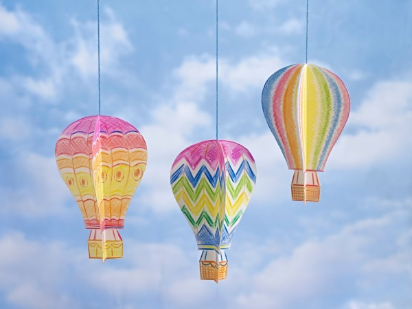 Finshed balloons