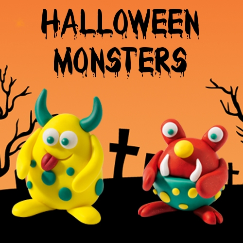 Halloween monsters FB
