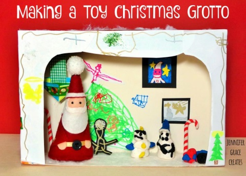 Make a toy grotto